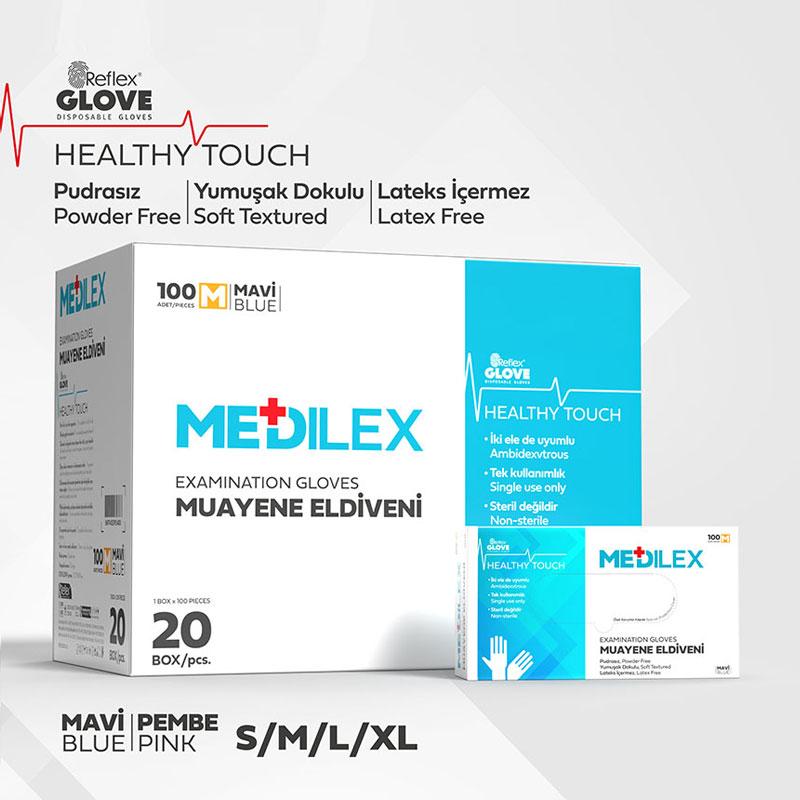 Reflex Medilex Gummihandschuh