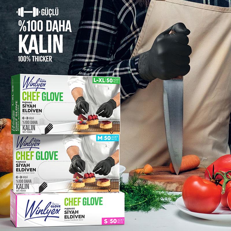 Reflex Winlyex Chef Glove Eldiven