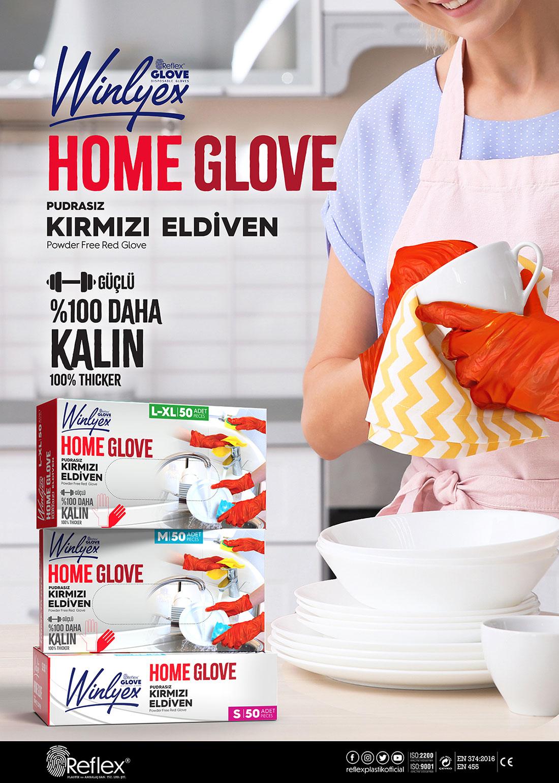 Reflex Winlyex Home Glove Eldiven